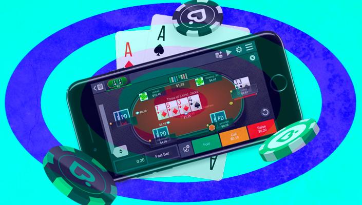 Покердом на мобильном