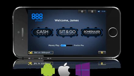 Мобильный 888 Покер: как использовать приложение Восьмерок для смартфонов?