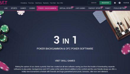 Обзор покер-рума Vbet Poker